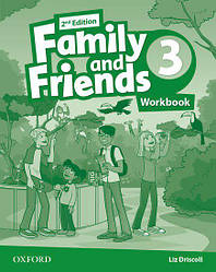 Family and Friends 2nd Edition 3 Workbook UA