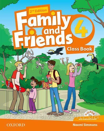 Family and Friends 2nd Edition 4 Class Book