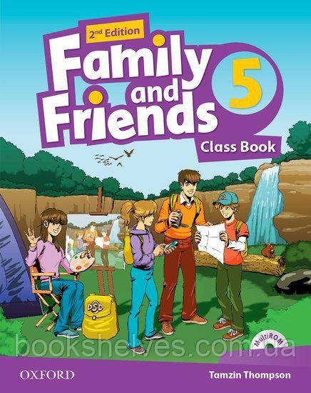Family and Friends 2nd edition 5 Classbook