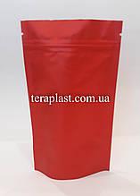 Дой-Пак 50г красный матовый 100х170 с зип замком