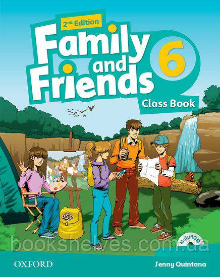 Family and Friends 2nd Edition 6 Classbook + MultiRom