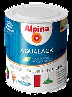 Alpina Aqualack SM2.5L (Водоразбавляемая колеруемая эмаль для дерева и металла шелковисто-матовая)