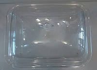Витрина { тортовница} акриловая прямоугольная с крышкой 465*365 мм, ТОЛЬКО КРЫШКА