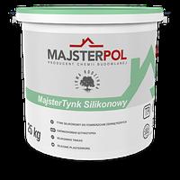 Штукатурка силиконовая MAJSTER-POL MajsterTynk Silikonowa Барашек 1.0 (25 кг)