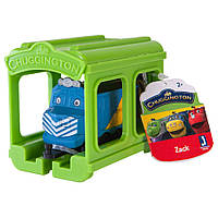 CHUGGINGTON Паровозик Зак с гаражом