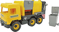 """Авто """"Middle truck"""" сміттєвоз (жовтий) в коробці (39492)"""