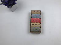 Носки набор Your Present Box женские - средние теплые - сердечки (5 пар)