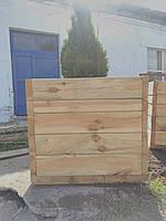 Вазоны садовые деревянные