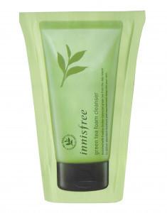 Innisfree Очищающая пенка Пробник Green Tea Foam Cleancer 5ml