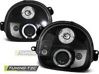 Передние фары тюнинг оптика Renault Twingo