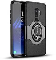 Чехол-накладка Ipaky 360° Free Rotation Ring Holder case Samsung Galaxy S9 G960F Black