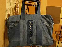 Джинсовая сумка Валенти