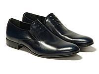 Туфли  Etor 10133-826 40 синие, фото 1