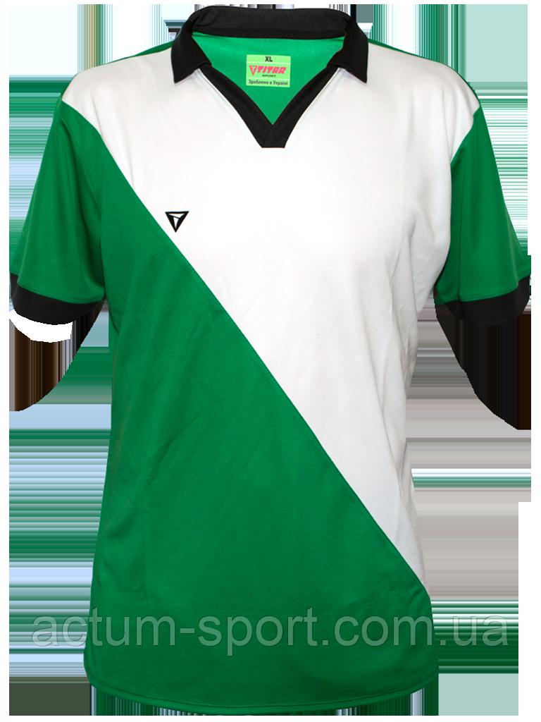 Футболка игровая Monaco 2 Titar Зелено/бело/черн, XL