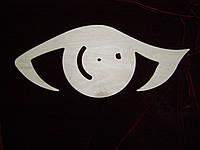 Часы глаз. Декор