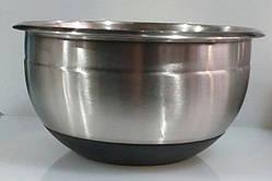 Миска нержавіюча кругла V 7350 мл Ø 300 мм