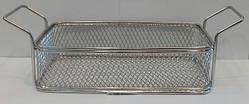 Корзинка { фритюрница} нержавеющая прямоугольная для подачи блюд 225*130*60 мм (шт)