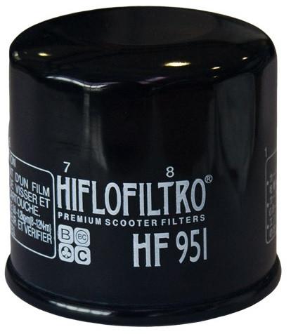 Фильтр масляный Hiflo HF951 для скутера Honda