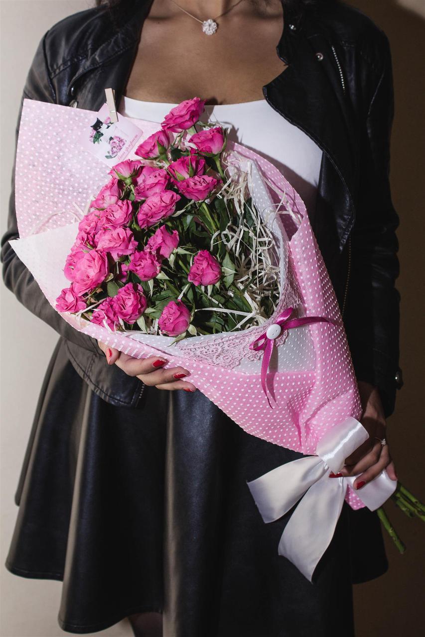 Букет роз для девушки