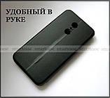 Противоударный чехол книжка в эко коже для Xiaomi Redmi 5, черный чехол Shemax, фото 2