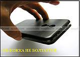 Противоударный чехол книжка в эко коже для Xiaomi Redmi 5, черный чехол Shemax, фото 7