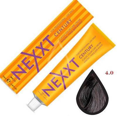 Крем-краска для волос   Nexxt Professional 4.00 шатен 100ml
