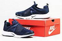 Кроссовки Nike Air Presto (темно синие с белым) кроссовки найк nike 5521
