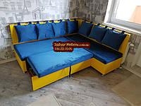 Кухонный уголок со спальным местом на заказ Ирпень, фото 1