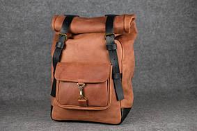 Мужской рюкзак HANKLE H42 |13221| Коньяк+Черный
