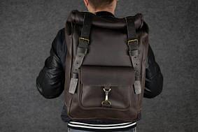 Мужской рюкзак HANKLE H42 |13220| Шоколад+Кофе