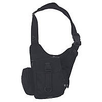 Наплечная сумка, черная. MFH, Германия.
