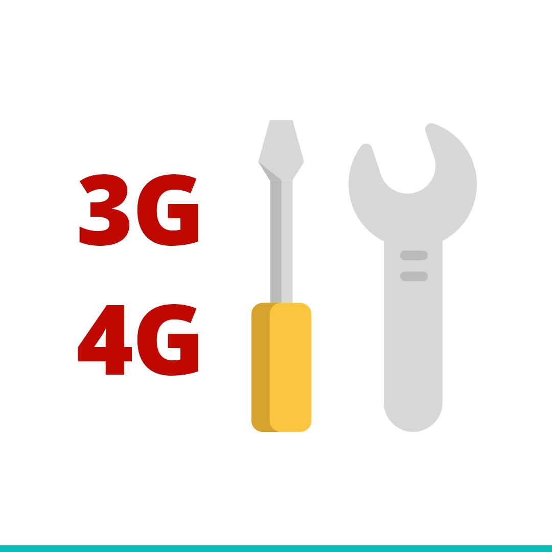 Ремонт 3G/4G оборудования
