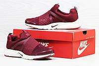 Кроссовки Nike Air Presto (бордовые) кроссовки найк nike 5522