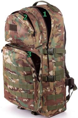 Пошив тактического рюкзака вместительность