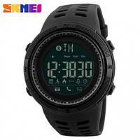 Спортивные смарт-часы Skmei Smart 1250 черные 50 m водонепроницаемый (5АТМ) , фото 1