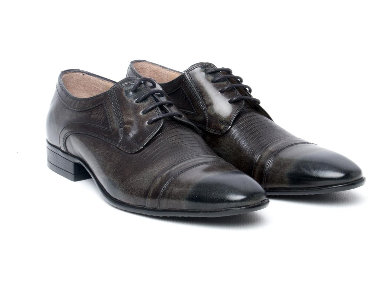 Туфли Etor 11630-852-1592  45 коричневые