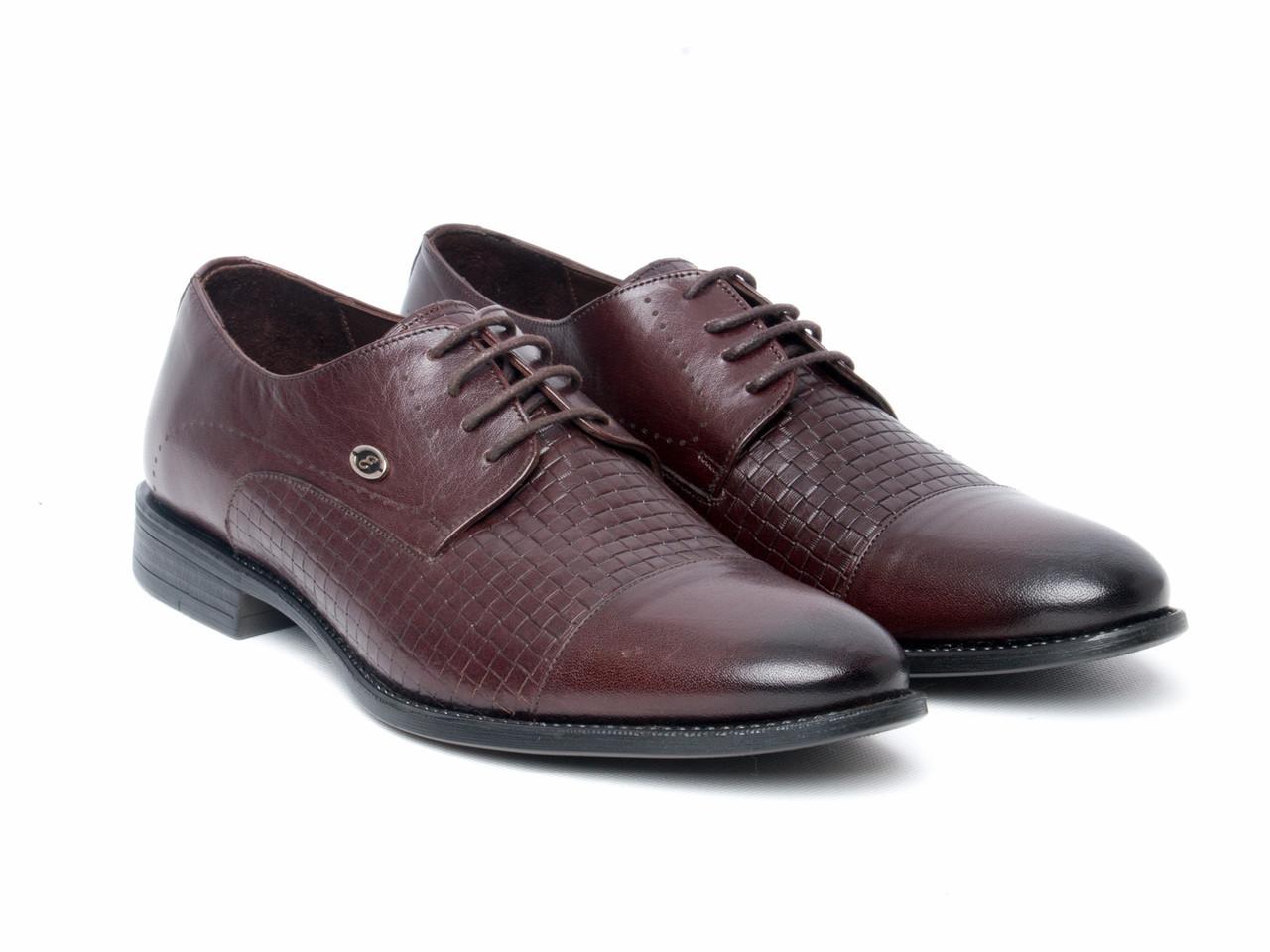 Туфли Etor 13665-7257-636-163 43 коричневые