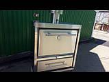 Печь на углях хоспер для кафе, ресторанов, уличной торговли ПДУ 1200, фото 4