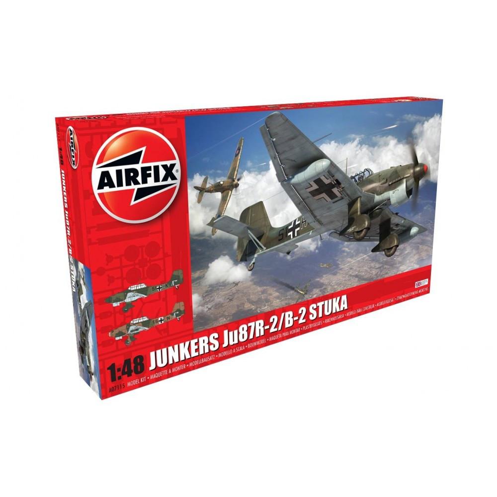 JUNKERS JU87R-2/B-2 STUKA . 1/48 AIRFIX 07115