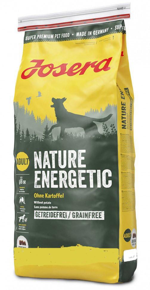 Корм для собак Josera NatureEnergetic (Йозера Нейчер Енергетік) беззерновой корм для взрослых собак, 900 г