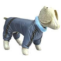 Комбинезон для собак Мех серый