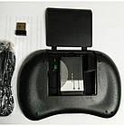 Мини клавиатура Rii i8 mini. Безпровідна клавіатура з підсвіткою для Андроід Смарт ТВ, фото 6