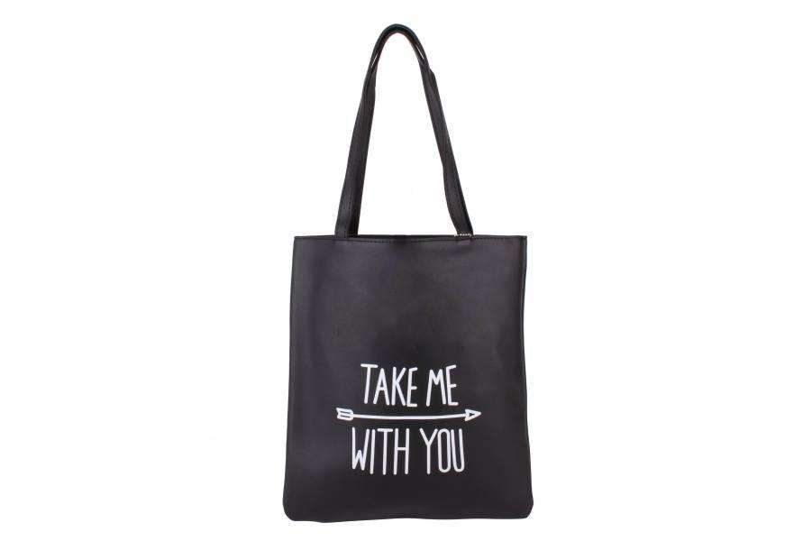 Городская, пляжная сумка Take me with you