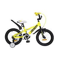 "Детский велосипед Formula 16"" JEEP 2018 14G рама-8,5"" St желтый (OPS-FRK-16-055)"