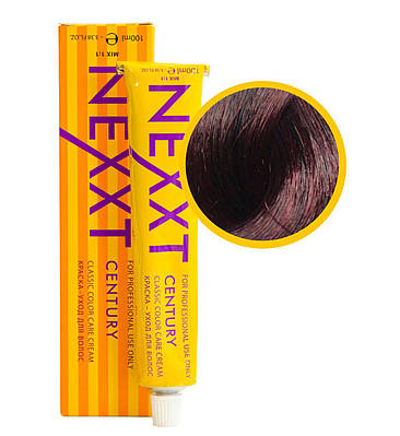 Крем-краска для волос   Nexxt Professional 5.56 светлый шатен красно-фиолетовый 100ml
