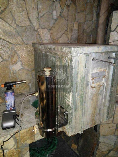 Отзыв об дымогенераторе  Копти Сам -1