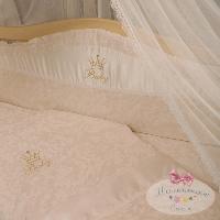 Сменный постельный комплект Маленькая Соня Baby Chic 3 элемента, фото 1