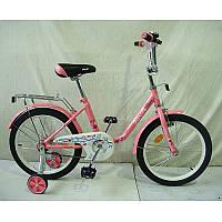 Велосипед детский Profi L1881 Flower, 18 дюймов