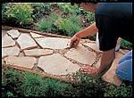 Садовые дорожки из песчаника (интересные статьи)