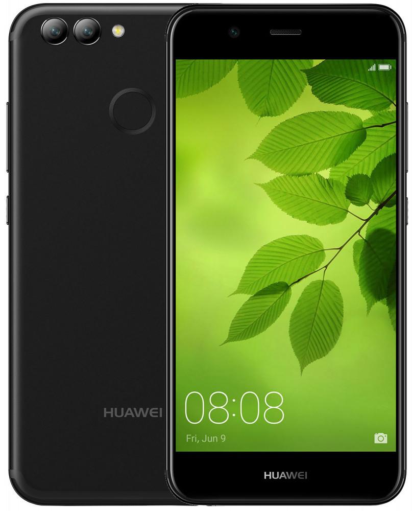"Смартфон Huawei Nova 2 4/64 Black, 12+8/20Мп, 5"" IPS, 2950 мА*ч, 2sim, Kirin 659, 8 ядер, 4G (LTE)"